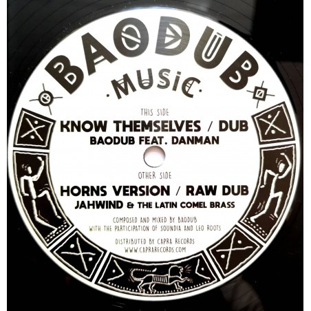 "Danman / Baodub / Jahwind & The Latin Comel Brass - Know Themselves / Horns Version (12"" Baodub Music)"