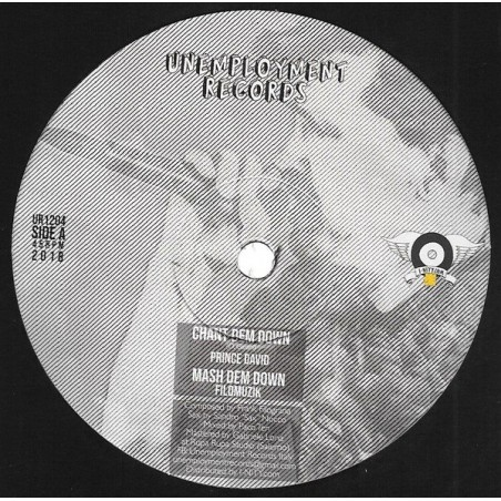 "Prince David / Verdiana ‎– Chant Dem Down / Concrete Castle King (12"" Unemployment)"