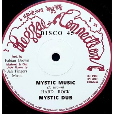"Hard Rock – Mystic Music / Jah Send Rain (12"" Reggae Connection)"