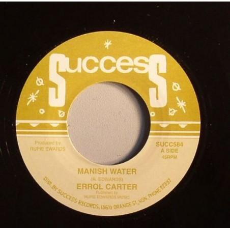 "Errol Carter – Manish Water (7"" Success)"