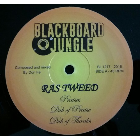 "Ras Tweed / Jacko ‎– Praises / Farmer Song (12"" Blackboard Jungle)"