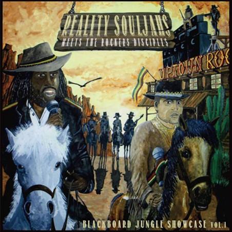 Reality Souljahs Meets The Rockers Disciples – Blackboard Jungle Showcase Vol.1 (LP)
