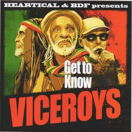 """The Viceroys / Jamtone & BDF – Get To Know / Assaulting Dub (7"""" Heartical)"""