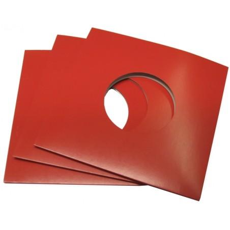 "7"" Red Cardboard Sleeve (X1 pcs)"