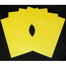 "7"" Yellow Cardboard Sleeve..."