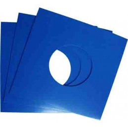 "7"" Blue Cardboard Sleeve..."