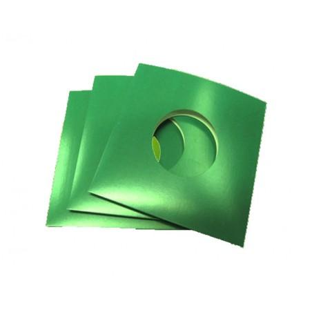 "7"" Green Cardboard Sleeve (X1 pcs)"