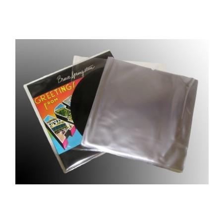 """LP / 12"""" transparent sleeve polyethylene top quality (X1pcs)"""
