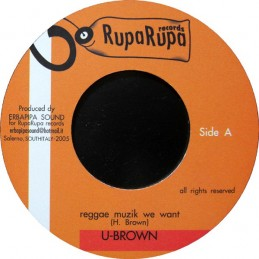 U-Brown ‎– Reggae Muzik We...